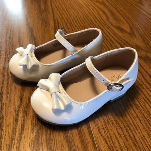 White Patent Dress Shoes